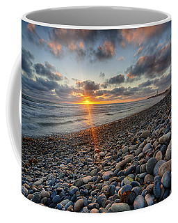 Rocky Coast Sunset Coffee Mug