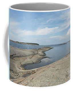Rocky Coastline In Hamina Coffee Mug