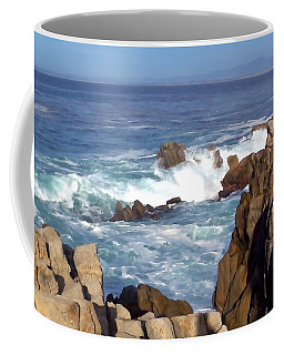 Rocky Monterey Coast Coffee Mug
