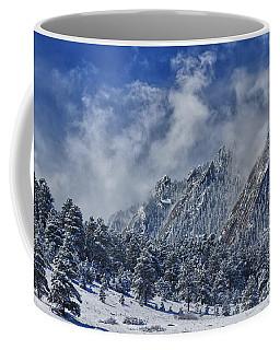 Rocky Mountain Dusting Of Snow Boulder Colorado Coffee Mug