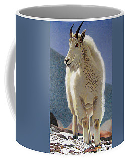 Rocky Mountain Goat Coffee Mug