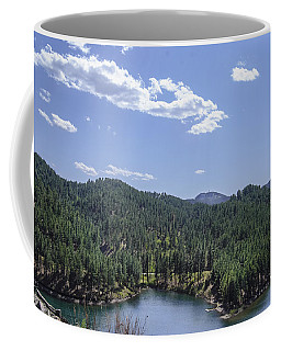 Rocky Mountain Lake Coffee Mug