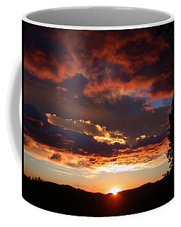 Rocky Mountain Sunset Coffee Mug