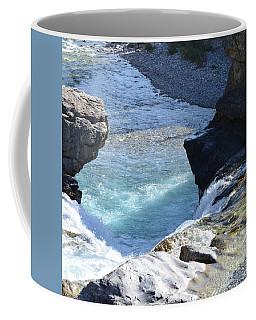 Elbow Falls Water  1.1 Coffee Mug by Cheryl Miller
