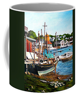 Rocky Neck October Coffee Mug by Eileen Patten Oliver