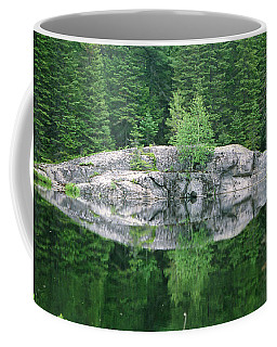 Coffee Mug featuring the photograph Rocky Reflection by David Porteus