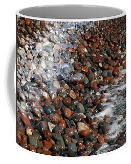 Rocky Shoreline Abstract Coffee Mug
