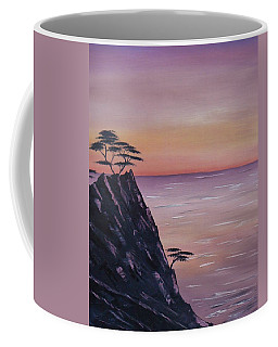 Rocky Sunset Coffee Mug