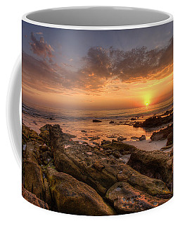 Rocky Sunset Coffee Mug