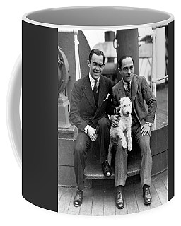 Coffee Mug featuring the photograph Rodgers And Hart by Granger
