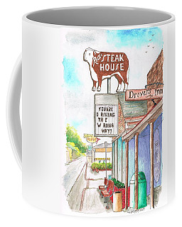 Rod's Steak House In Route 66 - Williams - Arizona Coffee Mug