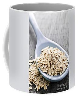 Rolled Oats In Spoon Coffee Mug
