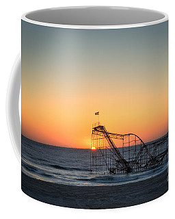 Roller Coaster Sunrise Coffee Mug