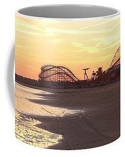 Roller Coaster Sunset Coffee Mug