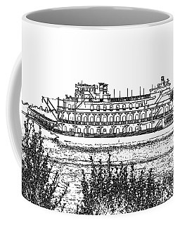 Coffee Mug featuring the photograph Rollin Down The River by John Freidenberg