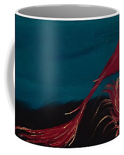 Coffee Mug featuring the painting Rollin Seaweed by Robert Nickologianis