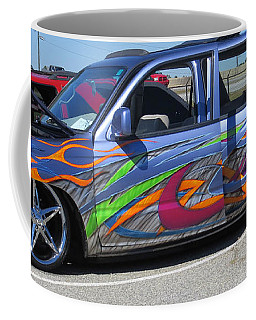 Rolling Art Lowrider Coffee Mug by Aaron Martens