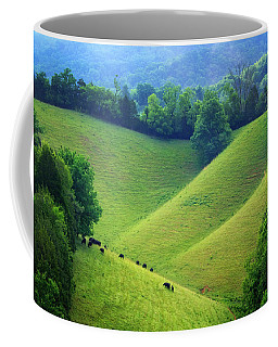 Rolling Hills Of Tennessee Coffee Mug
