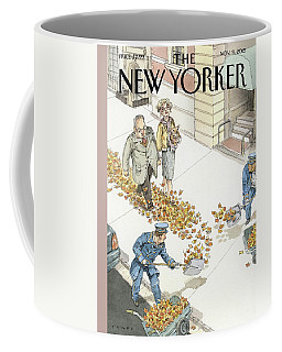 Rolling Out The Gold Carpet Coffee Mug