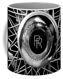 Rolls Royce - Black And White Coffee Mug