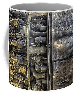 Rolls-royce Dart Turboprop Detail Coffee Mug by Lynn Palmer