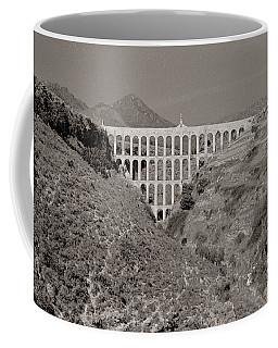 Coffee Mug featuring the photograph Roman Aqueduct Malaga Province by Tom Wurl