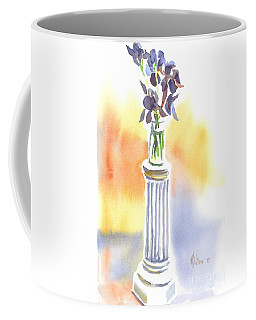 Coffee Mug featuring the painting Roman Holiday by Kip DeVore