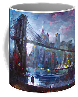 Romance By East River II Coffee Mug