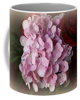 Coffee Mug featuring the photograph Romantic Floral Fantasy Bouquet by Kay Novy