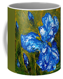 Romantic Iris Coffee Mug