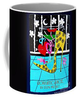 Coffee Mug featuring the painting Romantic Shoe by Don Pedro De Gracia