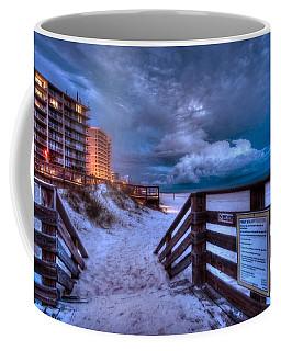Romar Beach Clouds Coffee Mug