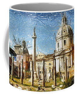 Rome Italy - Drawing Coffee Mug