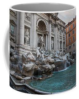 Rome's Fabulous Fountains - Trevi Fountain No Tourists Coffee Mug