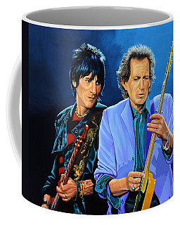 Ron Wood And Keith Richards Coffee Mug