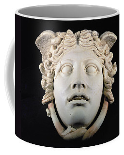Rondanini Medusa, Copy Of A 5th Century Bc Greek Marble Original, Roman Plaster Coffee Mug