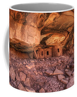 Roof Falling In Ruin 2 Coffee Mug by Bob Christopher
