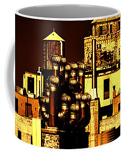Roof Yellow Orange Coffee Mug