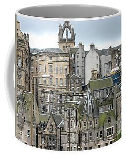 Roofs Of Edinburgh  Coffee Mug by Suzanne Oesterling