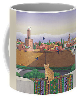 Rooftops In Marrakesh Coffee Mug