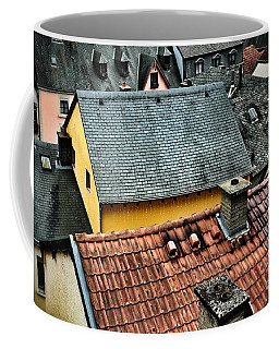 Coffee Mug featuring the photograph Rooftops by Nick  Biemans