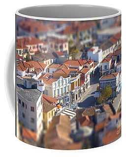 Coffee Mug featuring the photograph Rooftops by Vicki Spindler