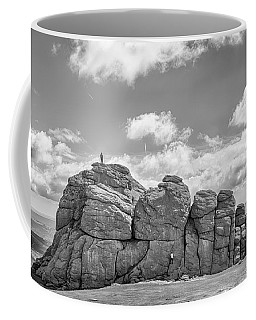 Coffee Mug featuring the photograph Room On Top by Howard Salmon