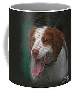 Rooney At The Back Door Coffee Mug