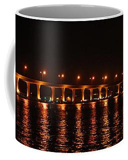 Coffee Mug featuring the photograph Roosevelt Bridge Panorama by Olga Hamilton