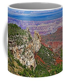 Roosevelt Point Two On North Rim/grand Canyon National Park-arizona   Coffee Mug