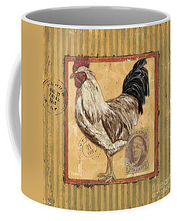 Rooster And Stripes Coffee Mug
