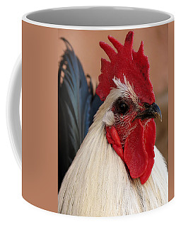 Rooster Face Coffee Mug