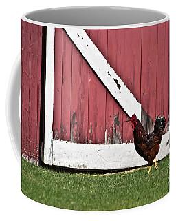 Rooster Strut Coffee Mug