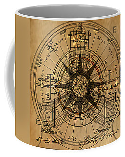Coffee Mug featuring the painting Root Patent I by James Christopher Hill